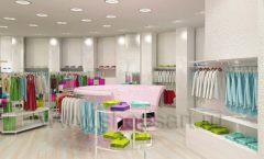 Дизайн интерьера детского магазина Винни Одежда ТЦ Юнимолл коллекция 21 ВЕК Дизайн 14