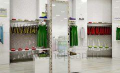 Дизайн интерьера детского магазина Винни Одежда ТЦ Юнимолл коллекция 21 ВЕК Дизайн 15