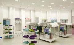 Дизайн интерьера детского магазина Винни Одежда ТЦ Юнимолл коллекция 21 ВЕК Дизайн 17
