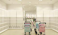 Дизайн интерьера детского магазина Винни Одежда ТЦ Юнимолл коллекция 21 ВЕК Дизайн 21