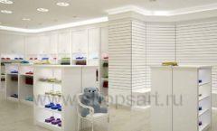 Дизайн интерьера детского магазина Винни Одежда ТЦ Юнимолл коллекция 21 ВЕК Дизайн 22