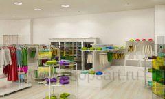 Дизайн интерьера детского магазина Винни Одежда ТЦ Юнимолл коллекция 21 ВЕК Дизайн 23
