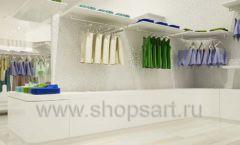 Дизайн интерьера детского магазина Винни Одежда ТЦ Юнимолл коллекция 21 ВЕК Дизайн 24