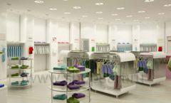 Дизайн интерьера детского магазина Винни Одежда ТЦ Юнимолл коллекция 21 ВЕК Дизайн 25
