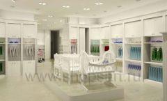 Дизайн интерьера детского магазина Винни Одежда ТЦ Юнимолл коллекция 21 ВЕК Дизайн 26