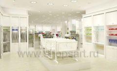 Дизайн интерьера детского магазина Винни Одежда ТЦ Юнимолл коллекция 21 ВЕК Дизайн 27