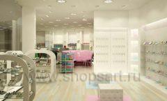 Дизайн интерьера детского магазина Винни Обувь ТЦ Юнимолл коллекция 21 ВЕК Дизайн 1
