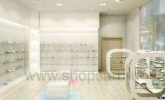 Дизайн интерьера детского магазина Винни Обувь ТЦ Юнимолл коллекция 21 ВЕК Дизайн 3