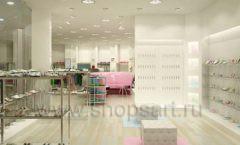 Дизайн интерьера детского магазина Винни Обувь ТЦ Юнимолл коллекция 21 ВЕК Дизайн 5