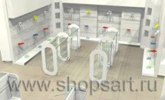 Дизайн интерьера детского магазина Винни ТЦ Dream House 3 этаж коллекция 21 ВЕК Дизайн 2