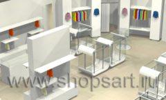 Дизайн интерьера детского магазина Винни ТЦ Dream House 3 этаж коллекция 21 ВЕК Дизайн 3
