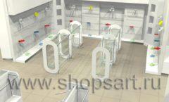 Дизайн интерьера детского магазина Винни ТЦ Dream House 3 этаж коллекция 21 ВЕК Дизайн 4