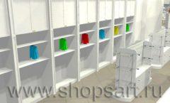 Дизайн интерьера детского магазина Винни ТЦ Dream House 3 этаж коллекция 21 ВЕК Дизайн 5