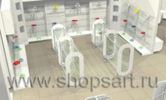 Дизайн интерьера детского магазина Винни ТЦ Dream House 3 этаж коллекция 21 ВЕК Дизайн 6
