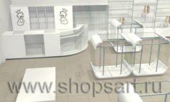 Дизайн интерьера детского магазина Винни ТЦ Dream House 3 этаж коллекция 21 ВЕК Дизайн 7