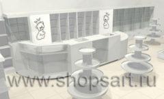 Дизайн интерьера детского магазина Винни ТЦ Dream House 3 этаж коллекция 21 ВЕК Дизайн 9