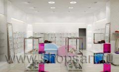 Дизайн интерьера детского магазина Винни ТЦ Dream House 2 этаж коллекция 21 ВЕК Дизайн 3