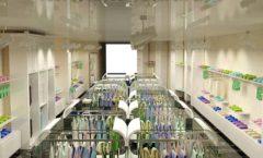 Дизайн интерьера детского магазина Винни Рублевкое шоссе коллекция 21 ВЕК Дизайн 01