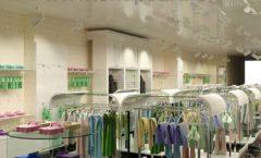 Дизайн интерьера детского магазина Винни Рублевкое шоссе коллекция 21 ВЕК Дизайн 04