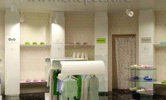 Дизайн интерьера детского магазина Винни Рублевкое шоссе коллекция 21 ВЕК Дизайн 06