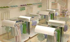 Дизайн интерьера детского магазина Винни Рублевкое шоссе коллекция 21 ВЕК Дизайн 08