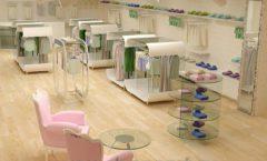 Дизайн интерьера детского магазина Винни Рублевкое шоссе коллекция 21 ВЕК Дизайн 10