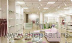 Дизайн интерьера детского магазина Жирафа коллекция 21 ВЕК Дизайн 1