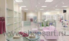 Дизайн интерьера детского магазина Жирафа коллекция 21 ВЕК Дизайн 3