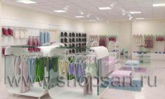 Дизайн интерьера детского магазина Жирафа коллекция 21 ВЕК Дизайн 5