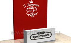 Дизайн интерьера детского магазина 3 Pommes коллекция 21 ВЕК Дизайн 06