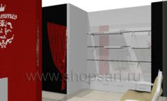 Дизайн интерьера детского магазина 3 Pommes коллекция 21 ВЕК Дизайн 07