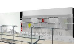 Дизайн интерьера детского магазина 3 Pommes коллекция 21 ВЕК Дизайн 09