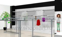 Дизайн интерьера детского магазина 3 Pommes коллекция 21 ВЕК Дизайн 10