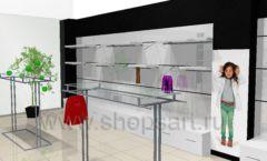 Дизайн интерьера детского магазина 3 Pommes коллекция 21 ВЕК Дизайн 12