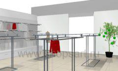 Дизайн интерьера детского магазина 3 Pommes коллекция 21 ВЕК Дизайн 13