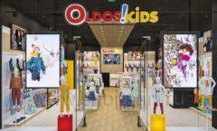 Дизайн интерьера детского магазина OLDOS KIDS коллекция РАДУГА Дизайн 1