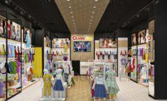 Дизайн интерьера детского магазина OLDOS KIDS коллекция РАДУГА Дизайн 2