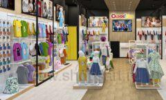 Дизайн интерьера детского магазина OLDOS KIDS коллекция РАДУГА Дизайн 3