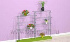 Этажерка для магазина цветов торговое оборудование АРОМАТНЫЙ МИР