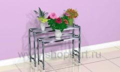 Столики для магазина цветов торговое оборудование АРОМАТНЫЙ МИР
