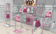 Дизайн интерьера детского магазина ACOO LIKE коллекция РАДУГА Дизайн 02