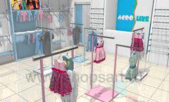 Дизайн интерьера детского магазина ACOO LIKE коллекция РАДУГА Дизайн 05