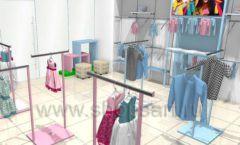 Дизайн интерьера детского магазина ACOO LIKE коллекция РАДУГА Дизайн 09