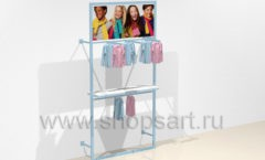 Дизайн интерьера детского магазина ACOO LIKE коллекция РАДУГА Дизайн 10