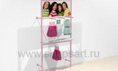 Дизайн интерьера детского магазина ACOO LIKE коллекция РАДУГА Дизайн 11