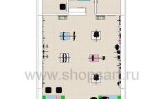 Дизайн интерьера детского магазина ACOO LIKE коллекция РАДУГА Дизайн 12