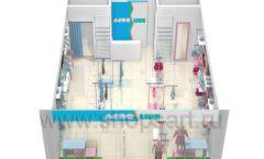 Дизайн интерьера детского магазина ACOO LIKE коллекция РАДУГА Дизайн 16
