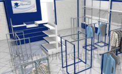 Дизайн интерьера детского магазина Перемена ТРЦ Азовский коллекция РАДУГА Дизайн 01