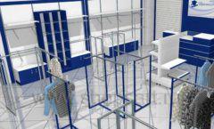Дизайн интерьера детского магазина Перемена ТРЦ Азовский коллекция РАДУГА Дизайн 03