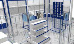 Дизайн интерьера детского магазина Перемена ТРЦ Азовский коллекция РАДУГА Дизайн 04